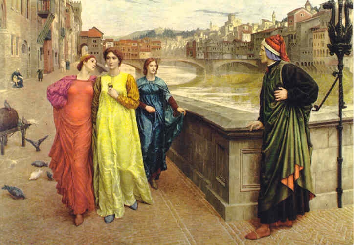 Dante incontra Beatrice Henry Holliday